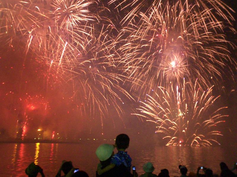 第63回松山港まつり・三津浜花火大会が開催されました - 坂の上の雲ちゃん@電脳広場